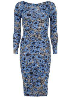 Blue poppy midi dress - Dresses - View All Sale - Sale $21