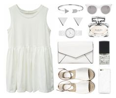 """White baby White"" by ayukatz ❤ liked on Polyvore featuring LULUS, Bling Jewelry, Gucci, DKNY, Jennifer Meyer Jewelry, Lane Bryant, Alexander McQueen and oontood"