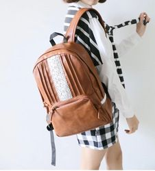 Online Shop stacy bag hot sale women leather backpack youth girl lace travel backpack female ladies casual travel bag student school bag Aliexpress Mobile