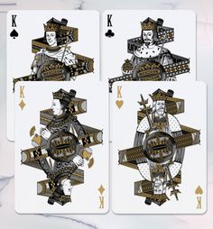 Bicycle® Hundred Years' War Playing Cards by SPAAAADE&Co. — Kickstarter