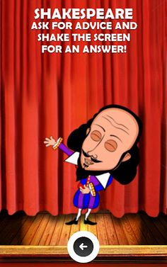 Hilarious advice from a Talking TomCat like Android App that has actual historical figures like Shakespeare and Gandhi dispensing some crazy advice and perfroming hilarious antics. What will they come up with next!