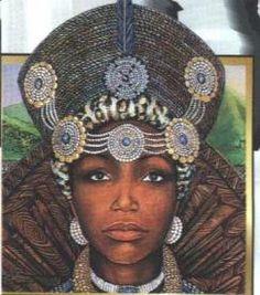 Queen Nandi of Zululand (Symbol of a woman of high esteem: 1778-1826- My daughter's namesake!