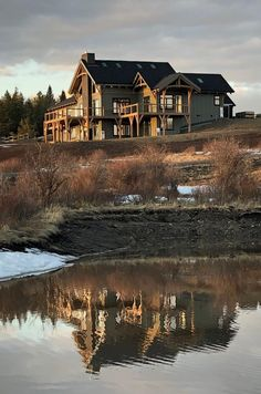 Cabin, Mansions, House Styles, Design, Home Decor, Mansion Houses, Room Decor, Mansion, Cottage