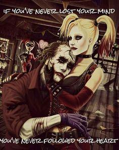 Harley calms the insanity in Joker