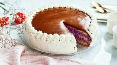 Raikas kinuskikakku - Yhteishyvä Just Eat It, Yams, Sweet Cakes, No Bake Desserts, Sweet Recipes, Tiramisu, Baking Recipes, Camembert Cheese, Food And Drink