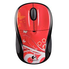 Logitech M305 Red Butterfly – Mouse