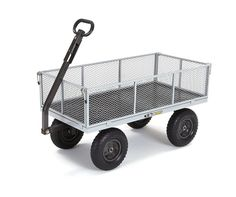 Shop a great selection of Gorilla Carts Heavy-Duty Steel Utility Cart Removable Sides, Capacity, Gray. Find new offer and Similar products for Gorilla Carts Heavy-Duty Steel Utility Cart Removable Sides, Capacity, Gray. Garden Wagon, Wheelbarrow Garden, Outdoor Jobs, Outdoor Projects, Yard Cart, Rolling Utility Cart, Steel Bed, Thing 1, Tools And Equipment
