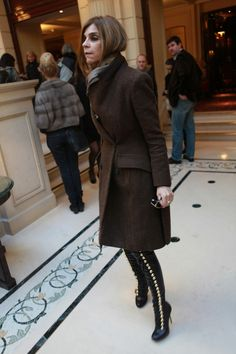 carine roitfeld's kickass boots.