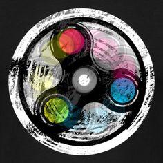 Spin t-shirt