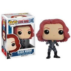 Black Widow Collectible Vinyl Figure - Original Funko Pop Marvel Civil – One Geek  DETAILS & DIMENSIONS Product: Black Widow Figures Product Size: 10 cm Material: PVC Age: Over 6 years old Type: Collectible Vinyl Doll Theme: Movie & TV Manufacturer: Funko