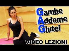 GAG: Esercizi per Gambe Addominali e Glutei - Allenamento per dimagrire da fare a casa - YouTube