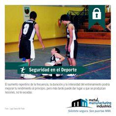 ¡#Seguridad en el Deporte! Recuerda no excederte en el aumento repentino en la frecuencia, duración e intensidad del entrenamiento, podrías lesionarte.