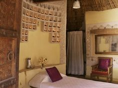 Moon to Moon: Decorated Indian Mud huts