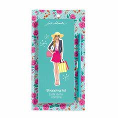 Lista de la Compra Magnética Roses Jordi Labanda. MIQUELRIUS - Roses  Magnetic Shopping List Pad designed by Jordi Labanda. MIQUELRIUS