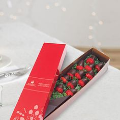Edible Arrangements® fruit baskets - Berry Chocolate Roses® 1 Dozen Semisweet Chocolate