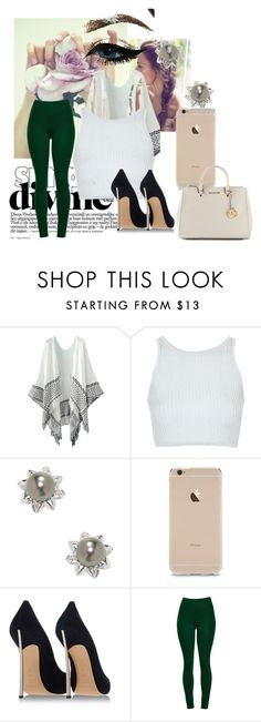 """""""simply divine ."""" by riahbreezy on Polyvore featuring Topshop, Belpearl, Casadei and MICHAEL Michael Kors"""