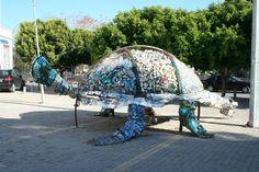 la tortue, mascotte de la ville de Kyrenia
