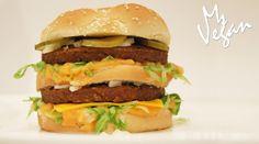 Ms Vegan 'Big Mac' @daiyafoods @gardein