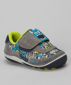 Take a look at this Gray & Navy Disney™ Monsters, Inc. Sneaker on zulily today!
