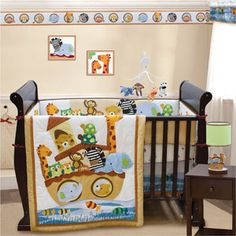 Bedtime Originals - Two's Company 8 Piece Crib Bedding Set