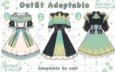 Dress Design Drawing, Dress Design Sketches, Fashion Design Drawings, Manga Clothes, Drawing Anime Clothes, Anime Outfits, Cool Outfits, Clothing Sketches, Anime Dress