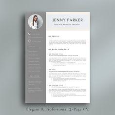 Golden Classic Resume Template Cv Template Letterhead  Resume