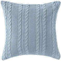 Victoria Classics Dublin Throw Pillow, Blue found on Polyvore featuring home, home decor, throw pillows, blue, blue home accessories, blue toss pillows, blue throw pillows, blue home decor and polyester throw pillows