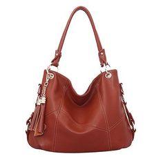 0c82939d7cbb Design Leather Shoulder Tote Bag with Tassel - 7 Colors. Tassel Hobo Luxury  Designer Leather Tote High-Quality Shoulder Bags ...