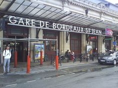 Day 19: Gare de Bordeaux St Jean. Our first point for arrival on the West coast of France.