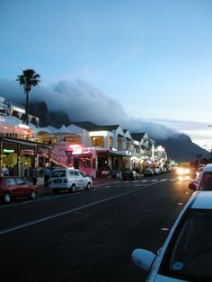 Sunset at Camps Bay, Cape Town, South Africa