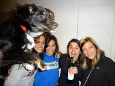 Собаки тоже любят участвовать во всяких интересных фотосессиях! Они пытаются влезть в кадр, даже когда их никто не звал...            ...