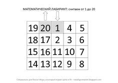 Здравствуйте-здравствуйте.   Сегодня поделюсь с вами интересным, на мой взгляд, способом разминки и настройки на занятие математикой. ...