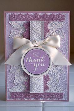 Card: *Anna Griffin* thank you