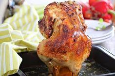 Веб Повар!: Курица, запечённая в духовке на банке с пивом