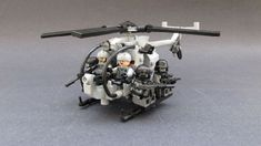 "MH/AH-6 ""Little Bird"": A LEGO® creation by Andrew Somers : MOCpages.com"