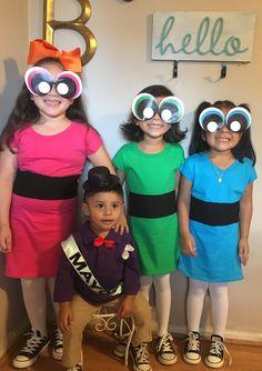 Powerpuff girls and the mayor costume