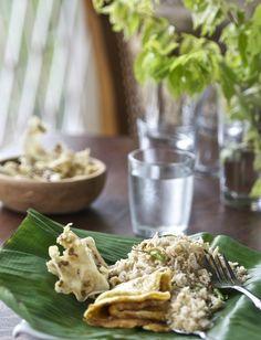 Indonesian Medan Food: Old Fashion Fried Rice ( Nasi goreng kampung )