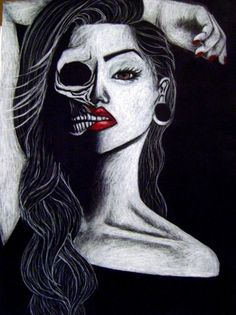 I'm not afraid of death. Death's afraid of me.  (Artist Unknown)