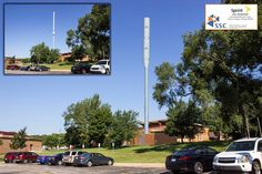 A photo simulation of one of the proposed designs for an expanded cell tower at 63rd and Mission. Prairie Village, Mission Hills, The Cell, City Council, Towers, The Neighbourhood, Environment, Urban, The Neighborhood