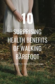 "10 Surprising Health Benefits of Walking Barefoot Also called ""earthing"" or ""grounding,"" the simple act of walking barefoot offers so many benefits that often get overlooked by mainstream society pushing the importance of wearing. Calendula Benefits, Matcha Benefits, Health Benefits Of Walking, Earthing Grounding, Zinc Deficiency, Tomato Nutrition, Walking Barefoot, Going Barefoot, Barefoot Girls"