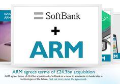 A-Series-Chip-Hersteller ARM: SoftBank plant Übernahme - https://apfeleimer.de/2016/07/a-series-chip-hersteller-arm-softbank-plant-uebernahme - Die Firma ARM, ihres Zeichen Produzent der A-Prozessoren für Apples iOS-Gerätschaften, könnte von dem chinesischen Global Player SoftBank aufgekauft werden. Dem Deal müssen die Aktionäre zwar noch zustimmen, da das Angebot aber recht gut aussieht, sollte diese problemlos ablaufen. ARM hat erst vo...