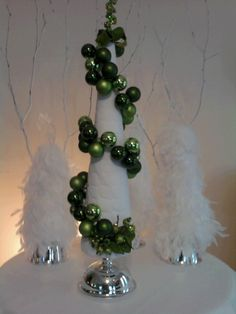 Christmas Cone Trees on Etsy