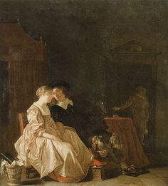Jacob van Loo - Amorous couple