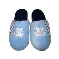 North Carolina Tar Heels Mens Open Back  Slippers