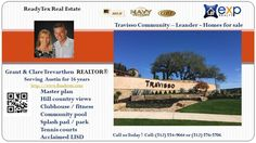 Gorgeous Welcome center Travisso 78641  https://gp1pro.com/USA/TX/Travis/Leander/Travisso/3929_Veneto_Cir__Leander__TX_78641.html  CLICK THIS LINK FOR ADDITIONAL DETAILS & SCHEDULE A SHOWING:  or Call Grant & Clare Trevarthen at (512) 554-9446 Gorgeous Welcome center Travisso 78641. Beautiful master community set in gorgeous Hill country with breathtaking views.  Builders include prestige construction by renowned builders like Grand haven, Toll brothers, Drees, Highland, Taylor Morrison.