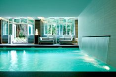 Located on the Herengracht canal, Hotel Waldorf Astoria Amsterdam is a luxury spa hotel with pool, gym, exclusive chic rooms & suites and Michelin restaurant. Hotel Pool, Hotel Spa, Luxury Spa Hotels, Astoria Hotel, Hotel Amenities, Waldorf Astoria, Vogue, Indoor Swimming Pools, Swimming Holes
