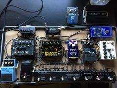 しょうぽむのエフェクターボード写真 - Effectsboard.com for Guitar