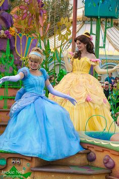 Soundsational - with new hairstyles of Cinderella and Belle   by caliscreamindreamin, via Flickr