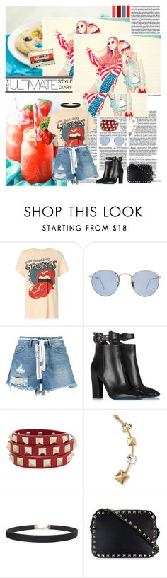 """""""Better Together"""" by ita-varela ❤ liked on Polyvore featuring MadeWorn, Ray-Ban, Off-White, Loriblu, Valentino, Humble Chic, valentino, casualoutfit, CasualChic and fashionset"""