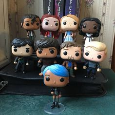 "hamilpop: ""The Lunar Chronicles by Marissa Meyer Spaaaaare parts project! These books were adorable, and I had a lot of spare parts lying around, so…this happened! There were two dolls I needed to purchase to finish the project, but I used up a. Marissa Meyer Books, Fan Art, Funko Pop Vinyl, Custom Funko Pop, Harry Potter Art, Pop Figures, Book Characters, Good Books, Ya Books"